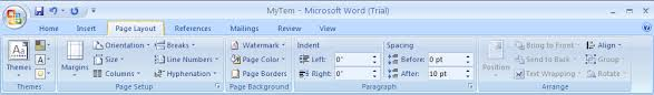 remove a page color page style formatting microsoft office