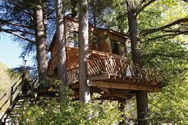 chambre d hotes rhone alpes cabane dans les arbres ardèche ecovoyageurs com