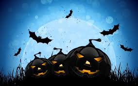 halloween scary backgrounds bats wallpapers group 68