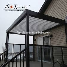 Pergola With Movable Louvers by Aluminum Pergola Roof Louver Aluminum Pergola Roof Louver