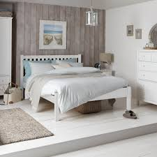 White Small Double Bed Frame by Small 4 U0027 Double Beds U2013 The Furniture Co