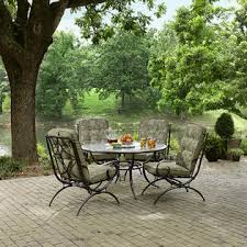 Kmart Patio Chairs Jaclyn Smith Cora 4 Piece Printed Dining Chairs In Green Kmart