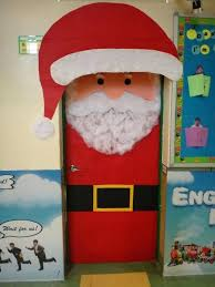Easy Door Decoration For Christmas by Office Door Christmas Decorating Ideas Image Of Front Door