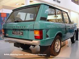 Range Rover British Motoring Icons