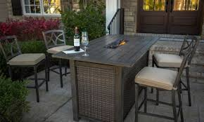 patio table with fire pit bar height patio table with fire pit fresh 4 party s of my favorite