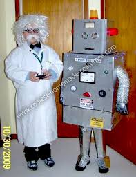 Robot Halloween Costume Coolest Homemade Scientist Robot Halloween Costumes