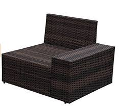 Outdoor Patio Furniture Sectional Pieces Wicker Patio Furniture Sectional Sofa Set With Cushions And