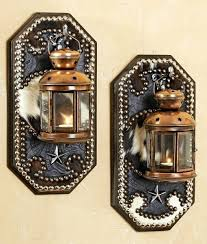 Tuscan Candle Wall Sconces Sconce Tuscan Wrought Iron Hanging Wall Candle Lantern Sconce