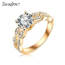 aliexpress buy beagloer new arrival ring gold beagloer 2017 ring gold silver color micro pave