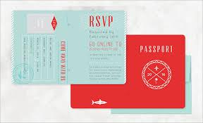 free passport invitation template orax info