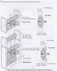How Do You Install A Bathtub Installing A K 304 Kohler Rite Temp Bath U0026 Shower Valve Terry