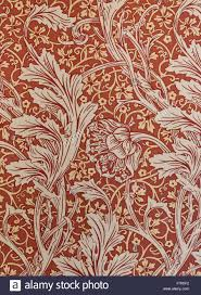 William Morris Wallpaper by William Morris Wallpaper In A Corridor At Cragside Northumberland