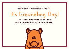 groundhog day cards customize 45 groundhog day card templates online canva
