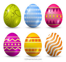 easter eggs free clip easter eggs 123freevectors