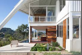 Modern Hill House Designs Home Design Rose Wood And Glass Exterior Material Breezy House