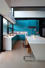 Turquoise Cabinets Kitchen 80 Cool Kitchen Cabinet Paint Color Ideas