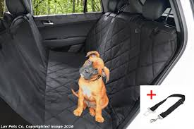 rear seat cover for dogs velcromag