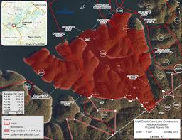 lake cumberland map nr 15 003 nashville district accepting lease applications for
