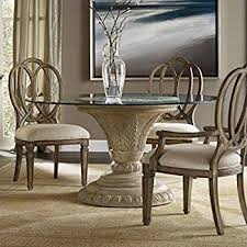 hooker dining room sets amazon com hooker furniture solana round 60 glass top dining