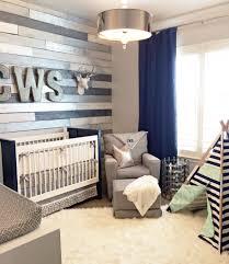 Navy Blue Curtains For Nursery Metallic Wood Wall Nursery Wood Walls Blue And Metallic