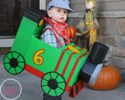 time to diy train percy halloween costume halloween