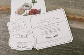 Letterpress Invitations Letterpress Wedding Invitations Smock