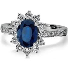 sapphire halo engagement rings european engagement ring oval blue sapphire ring h