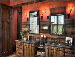 Rustic Cabin Bathroom Ideas - rustic bathroom decor rustic cabin bath decor