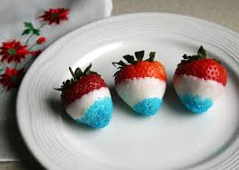 Easy Chocolate Covered Strawberries I Chocolate Covered Strawberries Red White And Blue Mytown U0027s Blog