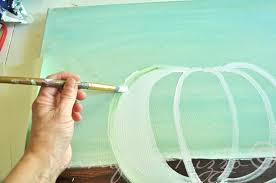 you can paint a pumpkin canvas art skills not required step by