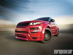 land rover hamann 2012 range rover evoque european car magazine