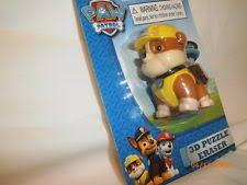 paw patrol erasers assorted marshall 3d puzzle eraser ebay