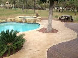 Landscaping Around Pools by 22 Best Staining Around Pools Images On Pinterest Concrete Pool
