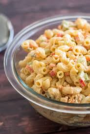 Best Pasta Salad by Small Macaroni Salad Baking Mischief