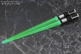lightsaber toy light up lightsaber chopstick yoda light up ver anime toy hobbysearch