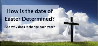 how is the date of easter determined whenis co uk