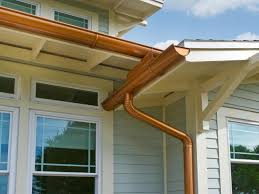 new gutters price wood rain gutters average cost of gutters per