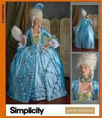 robe mari e simplicity pattern 3637 oop antoinette by costumedeeva