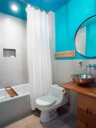 light bathroom ideas black finish varnished wooden table curved