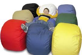amazon com poco bean beanbag chair for kids black baby