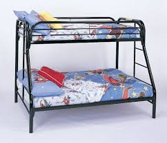 Full Sized Bunk Bed by Bunk Bed Twin Full Size Bunk Bed In Black Bunk Beds