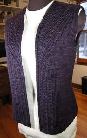 waistcoat knitting patterns loveknitting