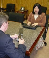 Blind And Deaf Woman Deaf Blind Communication Devices