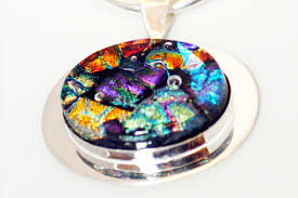 How To Make Fused Glass Jewelry - fused dichroic glass jewelry the seattle globalist