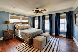 beach curtain ideas bedroom traditional with blue curtains