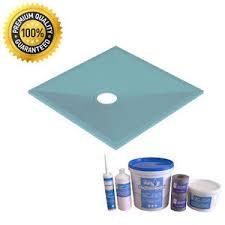 room wetroom shower tray kit various sizes for vinyl flooring