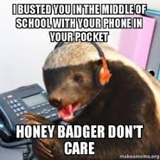 Telemarketer Meme - i busted you in the middle of school with your phone in your pocket