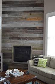 reclaimed barn wood wall wood fireplace surrounds living room rustic with wooden accent