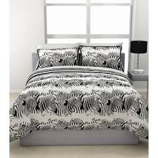 Duvet And Sheet Set Zebra Print Bed In A Bag With Sheets Set Free Shipping Today