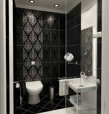 dark bathroom ideas masculine small dark bathroom tiles scheme feat modern rectangle